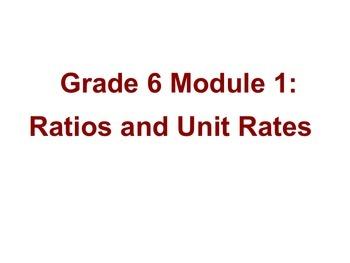 Engage NY Eureka Math 6th Grade Math Module 1 Lesson 1 on