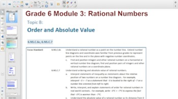 Engage NY Eureka Math 6th Grade Math Module 3 Topic B for