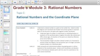 Engage NY Eureka Math 6th Grade Math Module 3 Topic C for