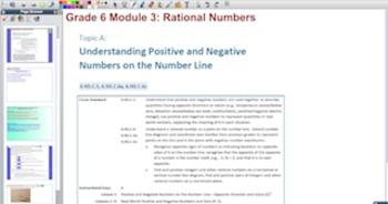 Engage NY Eureka Math 6th Grade Math Module 3 for Promethe