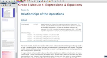 Engage NY Eureka Math 6th Grade Math Module 4 Topic A for