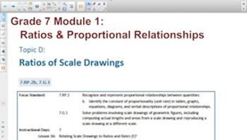 Engage NY Eureka Math 7th Grade Math Module 1 Topic D for