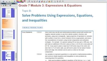 Engage NY Eureka Math 7th Grade Math Module 3 Topic B for