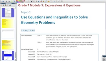 Engage NY Eureka Math 7th Grade Math Module 3 Topic C for