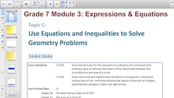 Engage NY Eureka Math 7th Grade Math Module 3 Topic C for