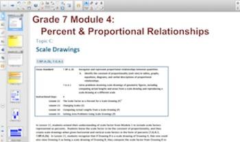 Engage NY Eureka Math 7th Grade Math Module 4 Topic C for
