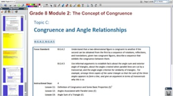 Engage NY Eureka Math 8th Grade Math Module 2 Topic C for
