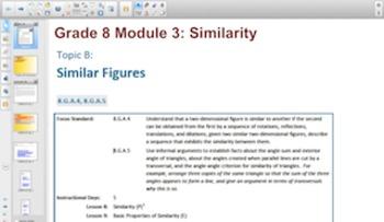 Engage NY Eureka Math 8th Grade Math Module 3 Topic C for