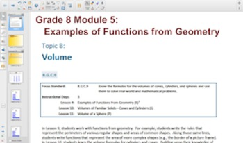 Engage NY Eureka Math 8th Grade Math Module 5 Topic B for