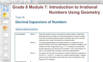 Engage NY Eureka Math 8th Grade Math Module 7 Topic B for