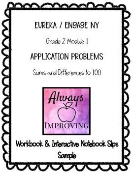 Engage NY / Eureka Math Grade 2 M3L2 SAMPLE Application Pr