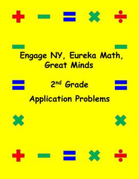 Engage NY Eureka Math Grade 2 Modules 1-8 Bundle Applicati