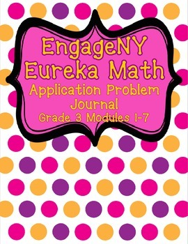 Engage NY Eureka Math Grade 3 Modules 1-7 Application Prob