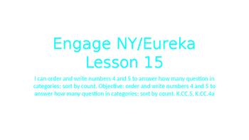 Engage NY/Eureka Math Module 1 Lesson 15