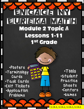 Engage NY {Eureka} Math Module 2 Topic A Lessons 1-11 1st Grade
