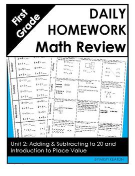 Eureka Math/Engage NY Grade One Module 2 Weekly Homework