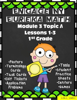 Engage NY {Eureka} Math Module 3 Topic A Lessons 1-3 First Grade