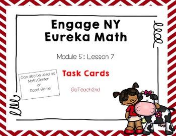 Engage NY Eureka Math Module 5 : Lesson 7 Math Center - Ta