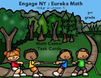 Engage NY Eureka Math Module 6 : Lesson 3  Math Center - T
