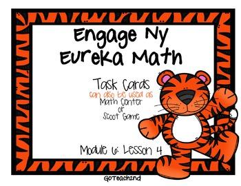 Engage NY Eureka Math Module 6 : Lesson 4  Math Center - T