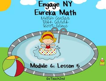 Engage NY Eureka Math Module 6 : Lesson 5  Math Center - T