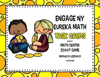 Engage NY - Eureka Math  Module 8: Lesson 13 Task Cards