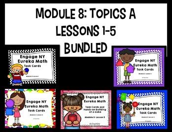 Engage NY - Eureka Math  Module 8: Topic A Lessons 1-5 BUN