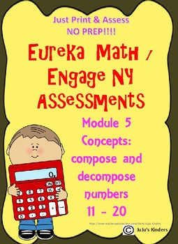 Engage NY / Eureka Math Teen Numbers Module 5 Assessment t