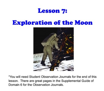 Engage NY First Grade ELA Literacy Domain 6 Astronomy Lesson 7