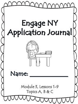 Engage NY First Grade Module 3 Lessons 1-9 Application Pro