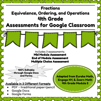 Engage NY Fourth Grade New York State Math Module 5 Assessment