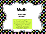 Engage NY Grade 1 Math: Module 1 Lesson 2
