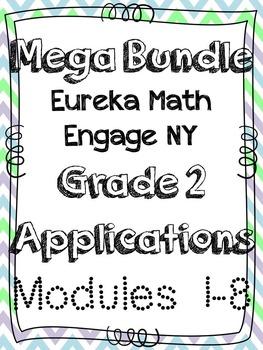 Eureka Math Applications Engage NY Grade 2 Math Modules 1-8
