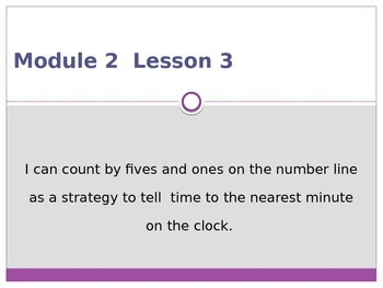 Engage New York / Eureka Grade 3 Module 2 Lesson 3 PowerPoint