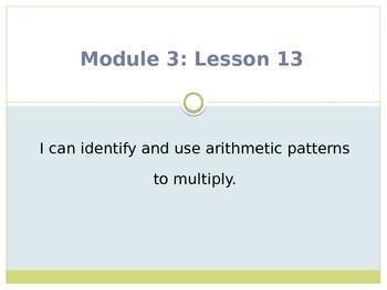 Engage New York / Eureka Grade 3 Module 3 Lesson 13 PowerPoint