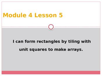 Engage New York / Eureka Grade 3 Module 4 Lesson 5 Powerpoint