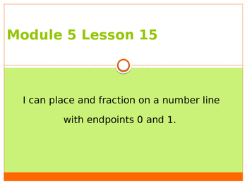 Engage New York / Eureka Grade 3 Module 5 Lesson 15 PowerPoint