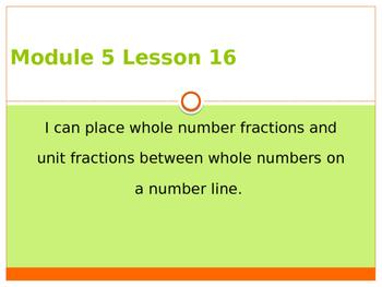 Engage New York / Eureka Grade 3 Module 5 Lesson 16 PowerPoint
