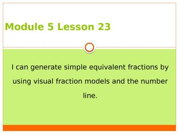 Engage New York / Eureka Grade 3 Module 5 Lesson 23 PowerPoint
