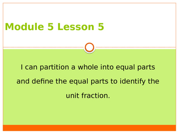 Engage New York / Eureka Grade 3 Module 5 Lesson 5 PowerPoint