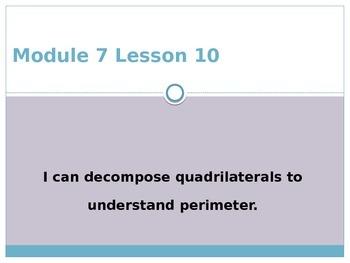 Engage New York / Eureka Grade 3 Module 7 Lesson 10 PowerPoint