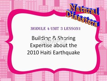 Engage NY Grade 5 ELA Module 4 Unit 3 Lessons 1-16 Haiti E
