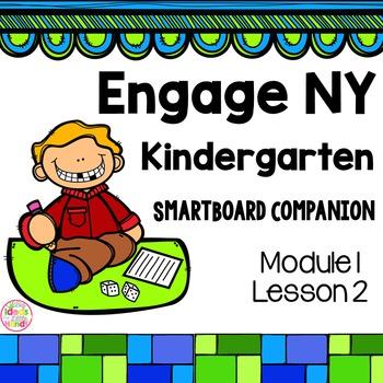Engage NY Kindergarten Math Module 1 Lesson 2 SmartBoard