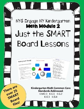 Engage NY Kindergarten Math Module 2- Just SMART Board Lessons