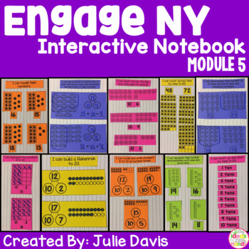 Engage NY Kindergarten Math Module 5 Interactive Notebook
