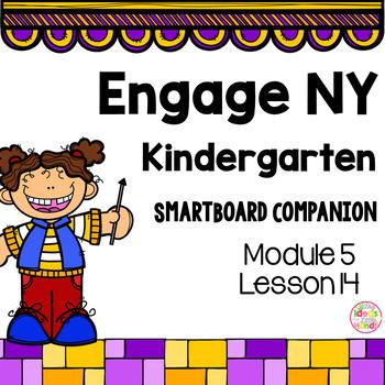 Engage NY Kindergarten Math Module 5 Lesson 14 SmartBoard