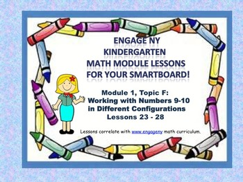 Engage NY Kindergarten Module 1, Topic F lessons (23 - 28)