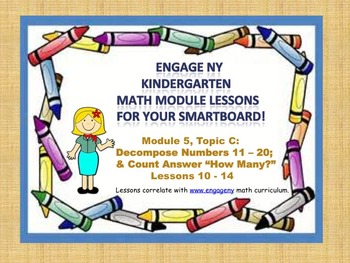 Engage NY Kindergarten Module 5, Topic C (lessons 10-14) f
