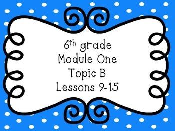 Engage NY Math 6, Module 1, Topic B