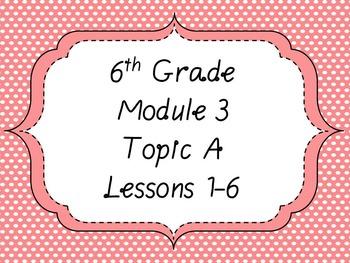 Engage NY Math 6 Module 3 PPT Bundle